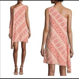NWT Vince Camuto One Shoulder Maasai Dress sz 8